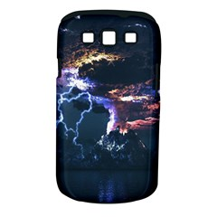 Lightning Volcano Manipulation Volcanic Eruption Samsung Galaxy S Iii Classic Hardshell Case (pc+silicone) by AnjaniArt