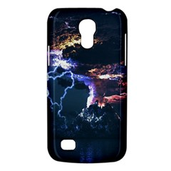 Lightning Volcano Manipulation Volcanic Eruption Samsung Galaxy S4 Mini (gt I9190) Hardshell Case  by AnjaniArt
