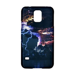 Lightning Volcano Manipulation Volcanic Eruption Samsung Galaxy S5 Hardshell Case  by AnjaniArt