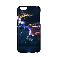 Lightning Volcano Manipulation Volcanic Eruption Apple Iphone 6/6s Hardshell Case by AnjaniArt