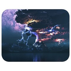 Lightning Volcano Manipulation Volcanic Eruption Full Print Lunch Bag by AnjaniArt