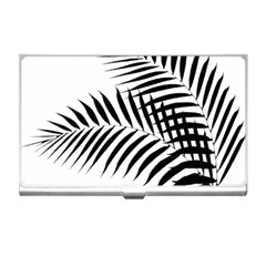 Palm Leaves Business Card Holder