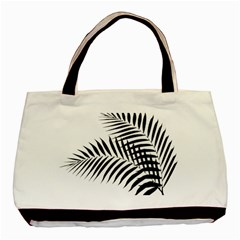 Palm Leaves Basic Tote Bag by AnjaniArt