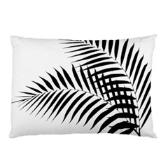 Palm Leaves Pillow Case by AnjaniArt