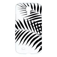 Palm Leaves Samsung Galaxy S4 I9500/i9505 Hardshell Case by AnjaniArt