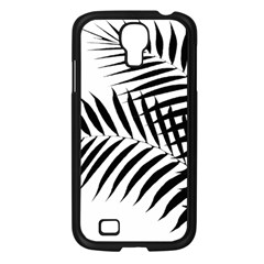 Palm Leaves Samsung Galaxy S4 I9500/ I9505 Case (black) by AnjaniArt