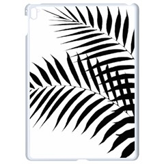 Palm Leaves Apple Ipad Pro 9 7   White Seamless Case by AnjaniArt