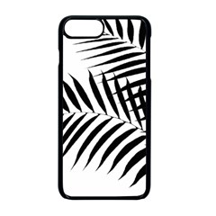 Palm Leaves Apple Iphone 8 Plus Seamless Case (black)