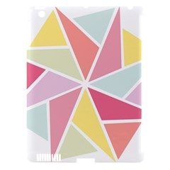 Star Triangle Rainbow Geometric Line Apple Ipad 3/4 Hardshell Case (compatible With Smart Cover)
