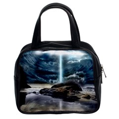 Space Galaxy Hole Classic Handbag (two Sides)