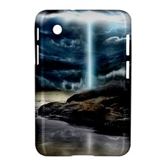 Space Galaxy Hole Samsung Galaxy Tab 2 (7 ) P3100 Hardshell Case  by AnjaniArt