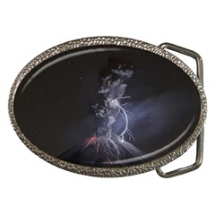 Star Night Volcano Lightning Wallpapers Flash Strom Belt Buckles by AnjaniArt