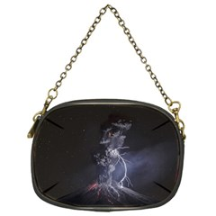 Star Night Volcano Lightning Wallpapers Flash Strom Chain Purse (one Side) by AnjaniArt