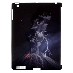 Star Night Volcano Lightning Wallpapers Flash Strom Apple Ipad 3/4 Hardshell Case (compatible With Smart Cover) by AnjaniArt