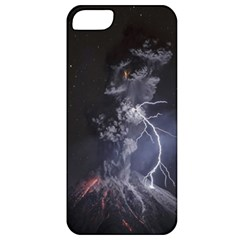 Star Night Volcano Lightning Wallpapers Flash Strom Apple Iphone 5 Classic Hardshell Case