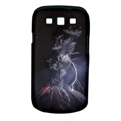 Star Night Volcano Lightning Wallpapers Flash Strom Samsung Galaxy S Iii Classic Hardshell Case (pc+silicone) by AnjaniArt