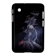 Star Night Volcano Lightning Wallpapers Flash Strom Samsung Galaxy Tab 2 (7 ) P3100 Hardshell Case  by AnjaniArt