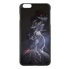 Star Night Volcano Lightning Wallpapers Flash Strom Apple Iphone 6 Plus/6s Plus Black Enamel Case by AnjaniArt
