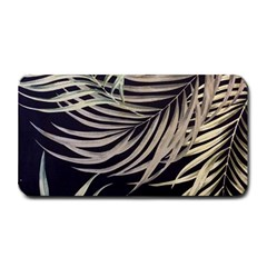 Palm Leaves Painting Grey Medium Bar Mats by AnjaniArt