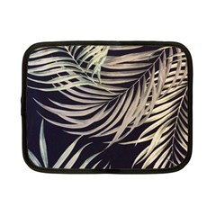 Palm Leaves Painting Grey Netbook Case (small)