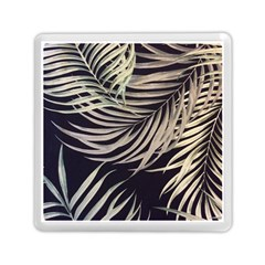 Palm Leaves Painting Grey Memory Card Reader (square) by AnjaniArt