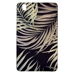 Palm Leaves Painting Grey Samsung Galaxy Tab Pro 8 4 Hardshell Case by AnjaniArt