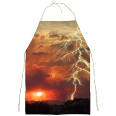 Sunset Lighting Filage Summer Full Print Aprons