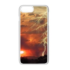 Sunset Lighting Filage Summer Apple Iphone 7 Plus Seamless Case (white) by AnjaniArt