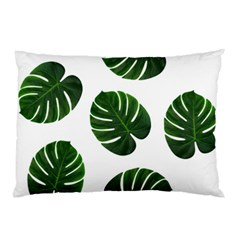Tropical Imitation Green Leaves Hawaiian Green Pillow Case