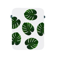 Tropical Imitation Green Leaves Hawaiian Green Apple Ipad 2/3/4 Protective Soft Cases