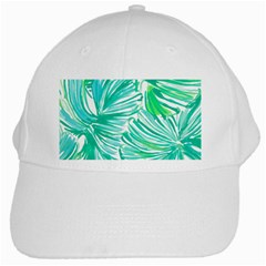 Painting Leafe Green Summer White Cap