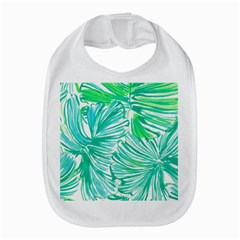 Painting Leafe Green Summer Bib by AnjaniArt