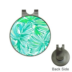 Painting Leafe Green Summer Hat Clips With Golf Markers