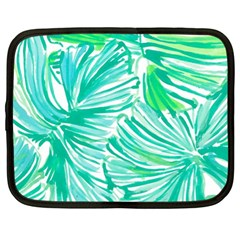 Painting Leafe Green Summer Netbook Case (xl)