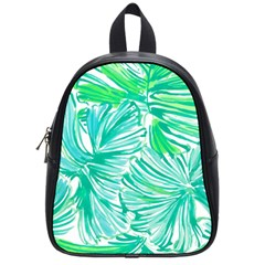 Painting Leafe Green Summer School Bag (small) by AnjaniArt