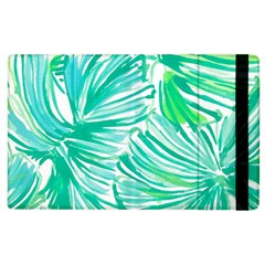 Painting Leafe Green Summer Apple Ipad 3/4 Flip Case by AnjaniArt