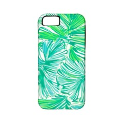 Painting Leafe Green Summer Apple Iphone 5 Classic Hardshell Case (pc+silicone)