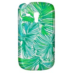 Painting Leafe Green Summer Samsung Galaxy S3 Mini I8190 Hardshell Case