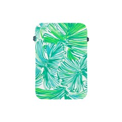 Painting Leafe Green Summer Apple Ipad Mini Protective Soft Cases by AnjaniArt