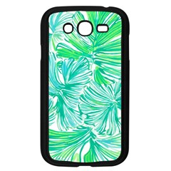 Painting Leafe Green Summer Samsung Galaxy Grand Duos I9082 Case (black) by AnjaniArt