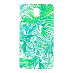 Painting Leafe Green Summer Samsung Galaxy Note 3 N9005 Hardshell Back Case