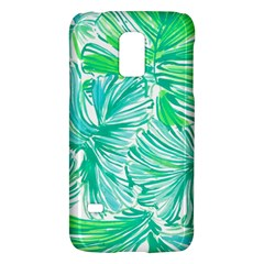Painting Leafe Green Summer Samsung Galaxy S5 Mini Hardshell Case