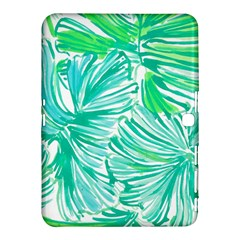 Painting Leafe Green Summer Samsung Galaxy Tab 4 (10 1 ) Hardshell Case  by AnjaniArt