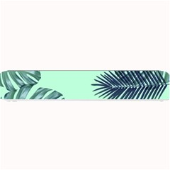 Tropical Leaves Green Leaf Small Bar Mats