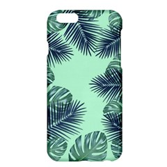 Tropical Leaves Green Leaf Apple Iphone 6 Plus/6s Plus Hardshell Case by AnjaniArt