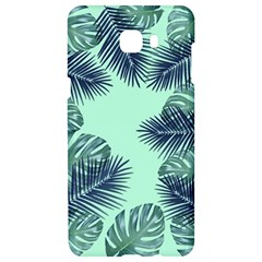 Tropical Leaves Green Leaf Samsung C9 Pro Hardshell Case  by AnjaniArt