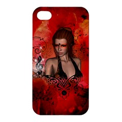 The Fairy Of Music Apple Iphone 4/4s Hardshell Case by FantasyWorld7