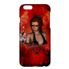 The Fairy Of Music Apple Iphone 6 Plus/6s Plus Hardshell Case by FantasyWorld7