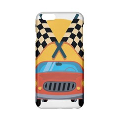 Automobile Car Checkered Drive Apple Iphone 6/6s Hardshell Case by Samandel