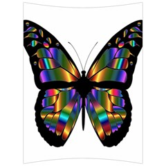 Abstract Animal Art Butterfly Back Support Cushion